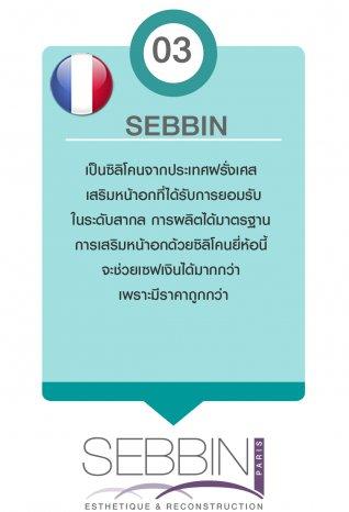 ซิลิซิลิซิลิโคน เสริมหน้าอก SEBBIN